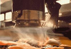 焼肉店ダクト清掃 無煙ロースター。ダクト内の清掃手順